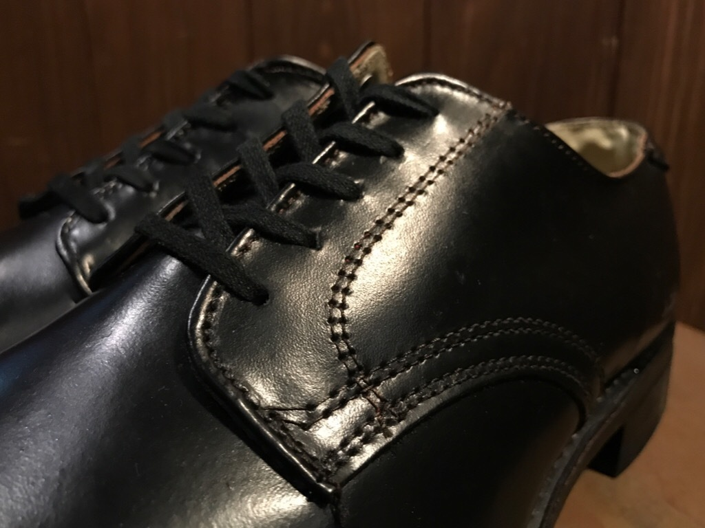 神戸店1/17(水)Vintage入荷! #2 Circa1950\'s NOS US.Navy Service Shoes!!!_c0078587_15193381.jpg