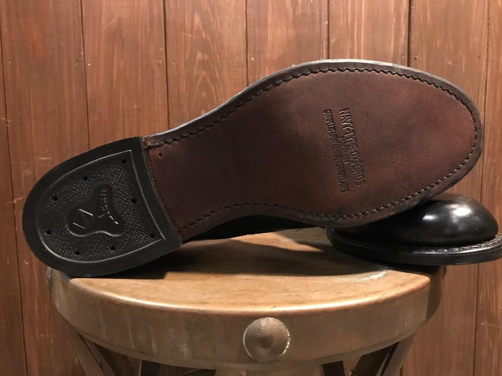 神戸店1/17(水)Vintage入荷! #2 Circa1950\'s NOS US.Navy Service Shoes!!!_c0078587_15193452.jpg