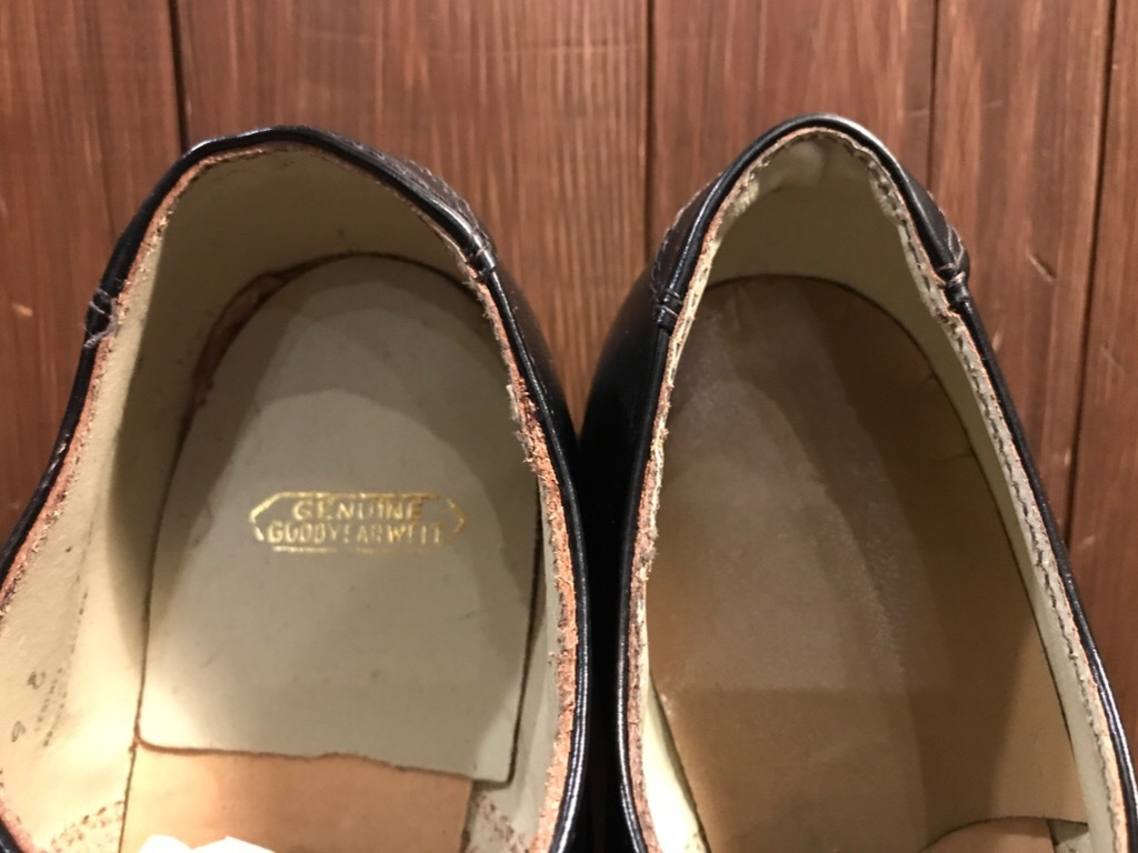 神戸店1/17(水)Vintage入荷! #2 Circa1950\'s NOS US.Navy Service Shoes!!!_c0078587_15193475.jpg