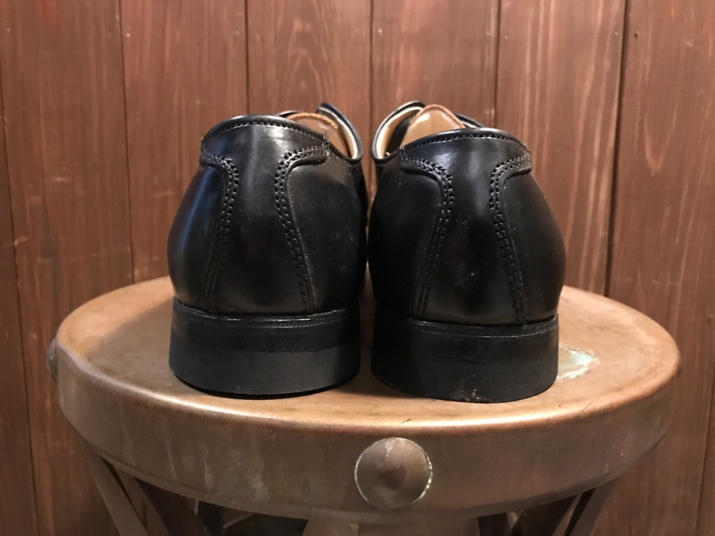 神戸店1/17(水)Vintage入荷! #2 Circa1950\'s NOS US.Navy Service Shoes!!!_c0078587_15203708.jpg