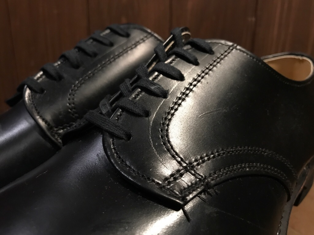 神戸店1/17(水)Vintage入荷! #2 Circa1950\'s NOS US.Navy Service Shoes!!!_c0078587_15203801.jpg