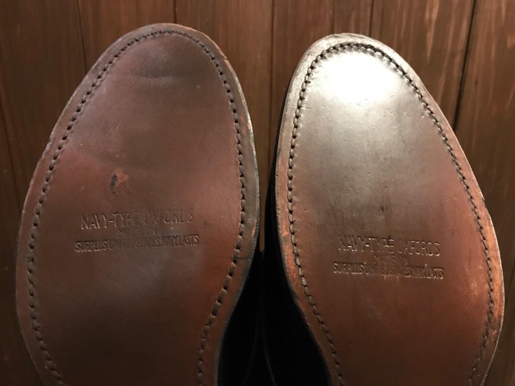 神戸店1/17(水)Vintage入荷! #2 Circa1950\'s NOS US.Navy Service Shoes!!!_c0078587_15203867.jpg