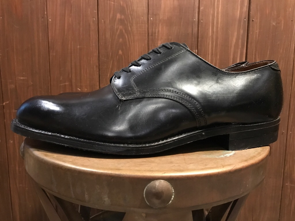 神戸店1/17(水)Vintage入荷! #2 Circa1950\'s NOS US.Navy Service Shoes!!!_c0078587_15212663.jpg