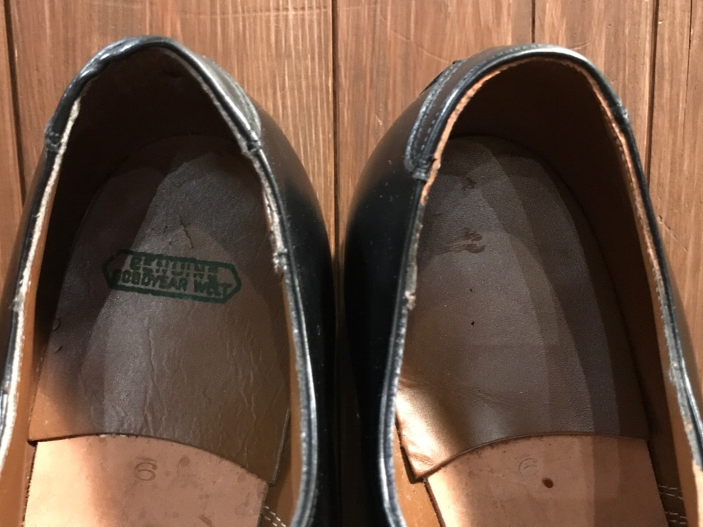 神戸店1/17(水)Vintage入荷! #2 Circa1950\'s NOS US.Navy Service Shoes!!!_c0078587_15212784.jpg