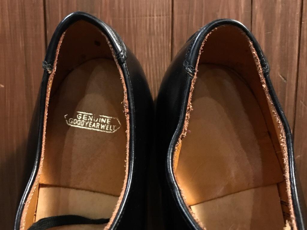 神戸店1/17(水)Vintage入荷! #2 Circa1950\'s NOS US.Navy Service Shoes!!!_c0078587_15230843.jpg