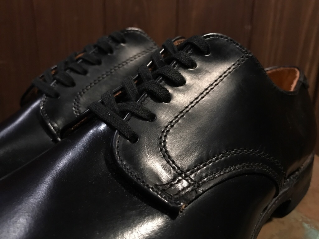 神戸店1/17(水)Vintage入荷! #2 Circa1950\'s NOS US.Navy Service Shoes!!!_c0078587_15230856.jpg