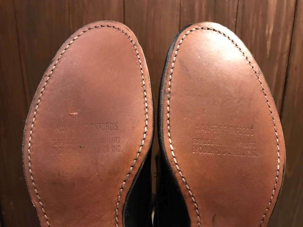 神戸店1/17(水)Vintage入荷! #2 Circa1950\'s NOS US.Navy Service Shoes!!!_c0078587_15230987.jpg