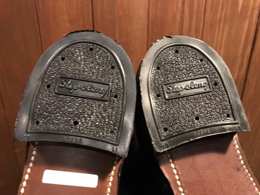 神戸店1/17(水)Vintage入荷! #2 Circa1950\'s NOS US.Navy Service Shoes!!!_c0078587_15262855.jpg