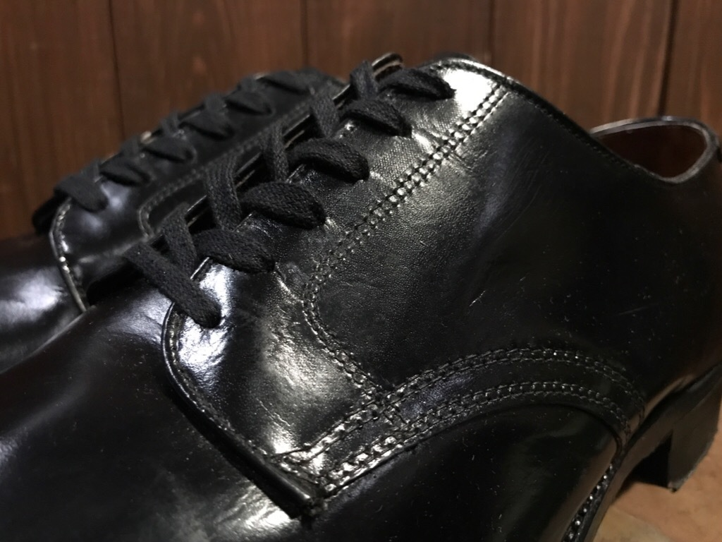 神戸店1/17(水)Vintage入荷! #2 Circa1950\'s NOS US.Navy Service Shoes!!!_c0078587_15262869.jpg