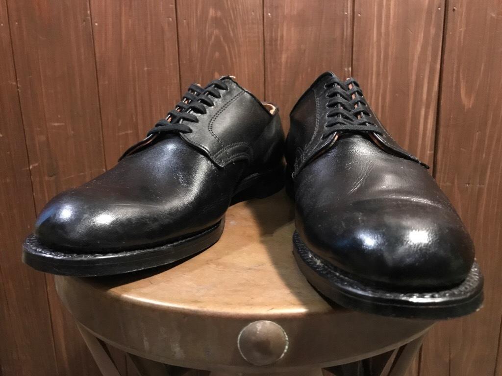 神戸店1/17(水)Vintage入荷! #2 Circa1950\'s NOS US.Navy Service Shoes!!!_c0078587_15273919.jpg