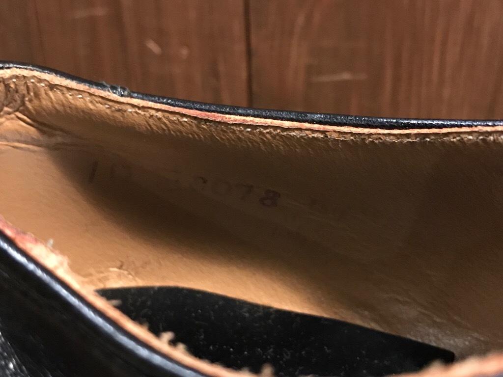神戸店1/17(水)Vintage入荷! #2 Circa1950\'s NOS US.Navy Service Shoes!!!_c0078587_15273971.jpg
