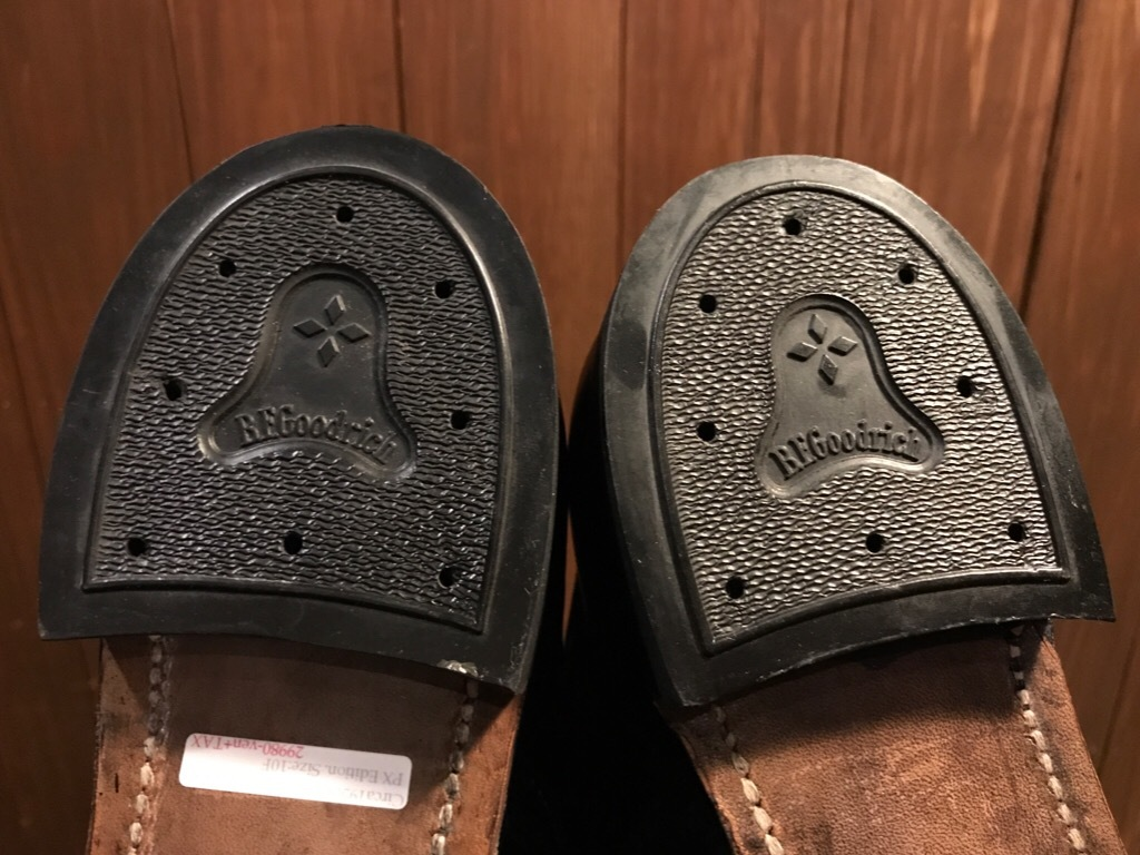 神戸店1/17(水)Vintage入荷! #2 Circa1950\'s NOS US.Navy Service Shoes!!!_c0078587_15274093.jpg