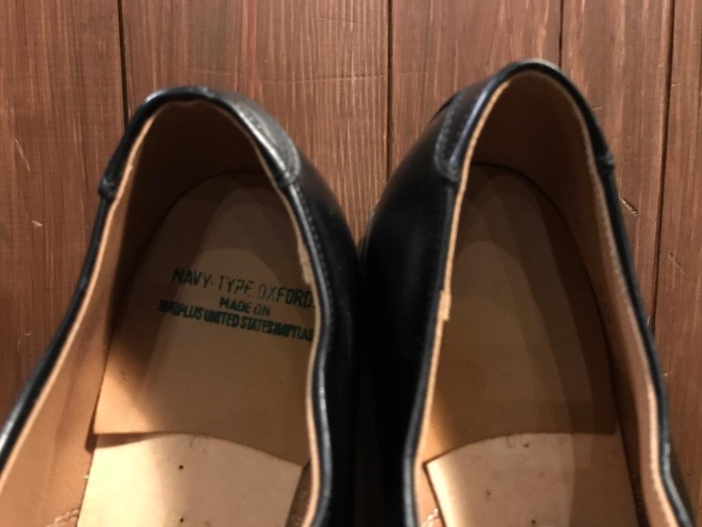 神戸店1/17(水)Vintage入荷! #2 Circa1950\'s NOS US.Navy Service Shoes!!!_c0078587_15282457.jpg