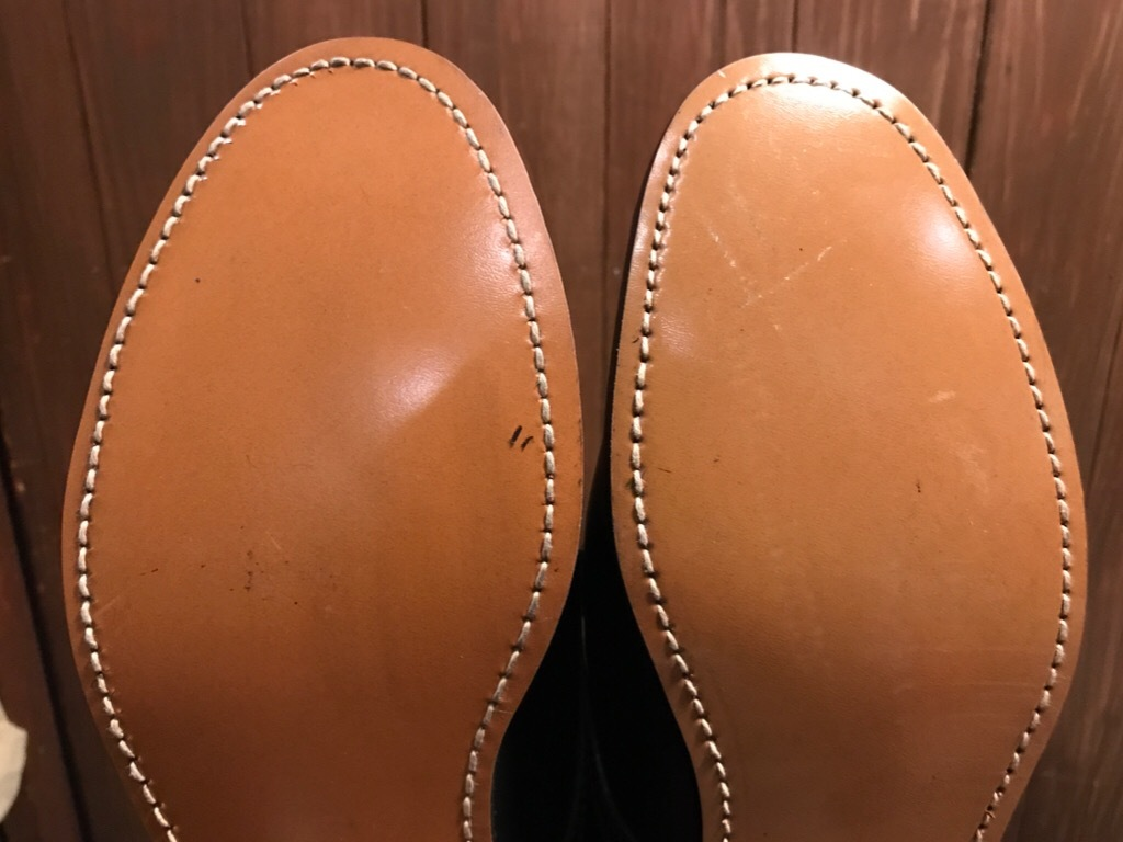 神戸店1/17(水)Vintage入荷! #2 Circa1950\'s NOS US.Navy Service Shoes!!!_c0078587_15282540.jpg
