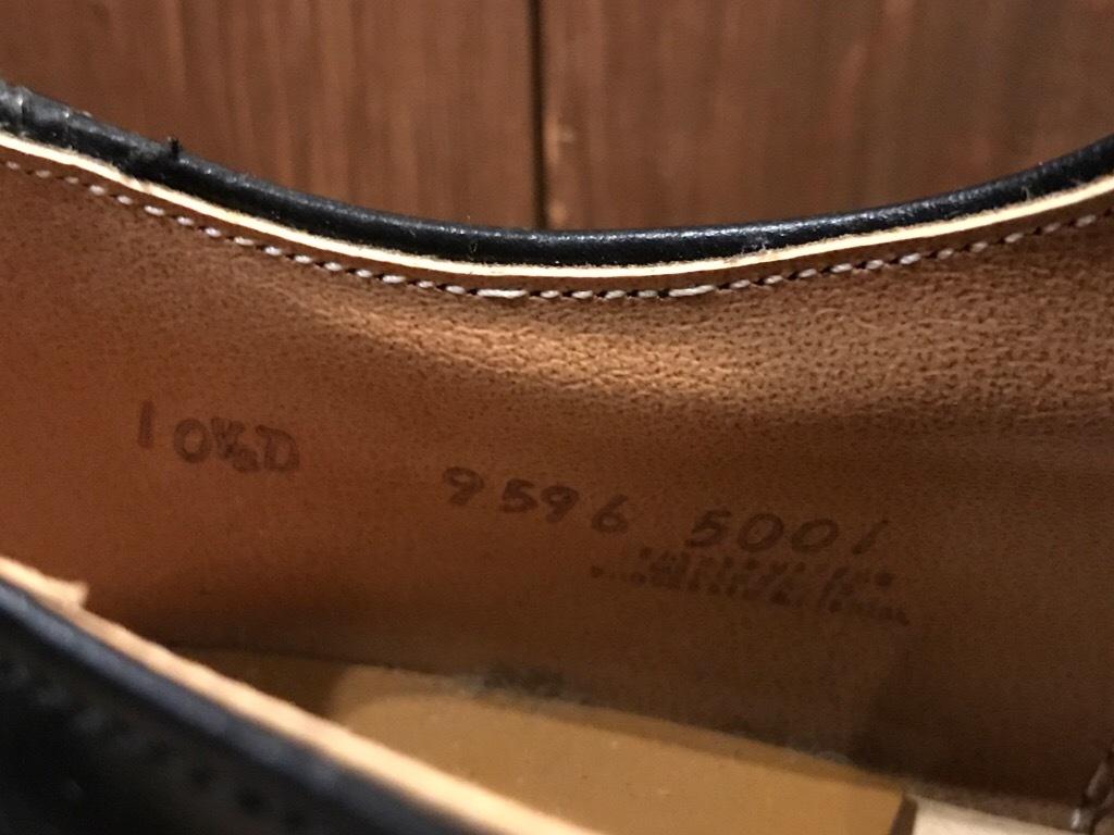 神戸店1/17(水)Vintage入荷! #2 Circa1950\'s NOS US.Navy Service Shoes!!!_c0078587_15295258.jpg