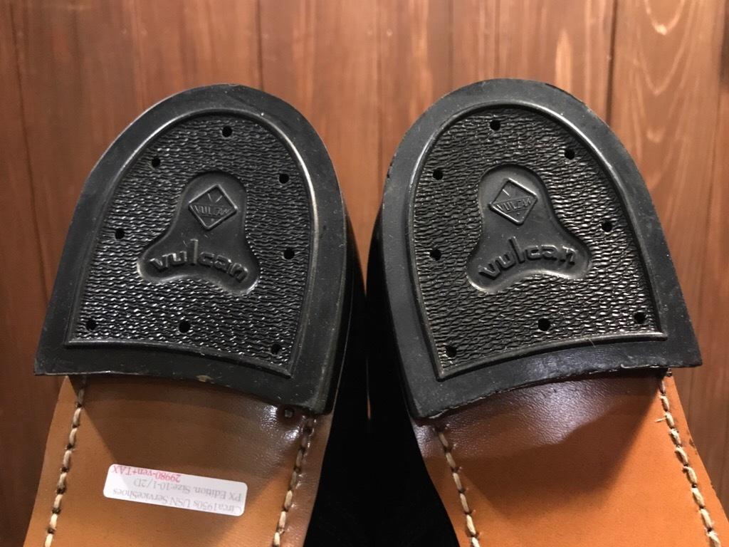 神戸店1/17(水)Vintage入荷! #2 Circa1950\'s NOS US.Navy Service Shoes!!!_c0078587_15295331.jpg