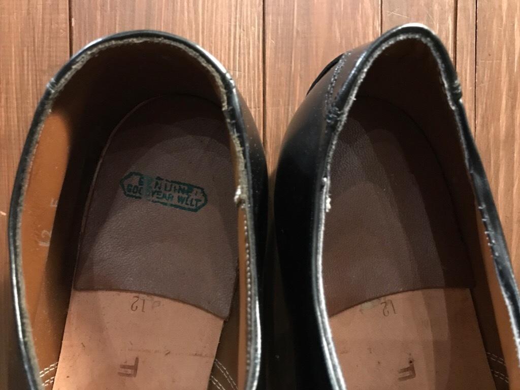 神戸店1/17(水)Vintage入荷! #2 Circa1950\'s NOS US.Navy Service Shoes!!!_c0078587_15312381.jpg