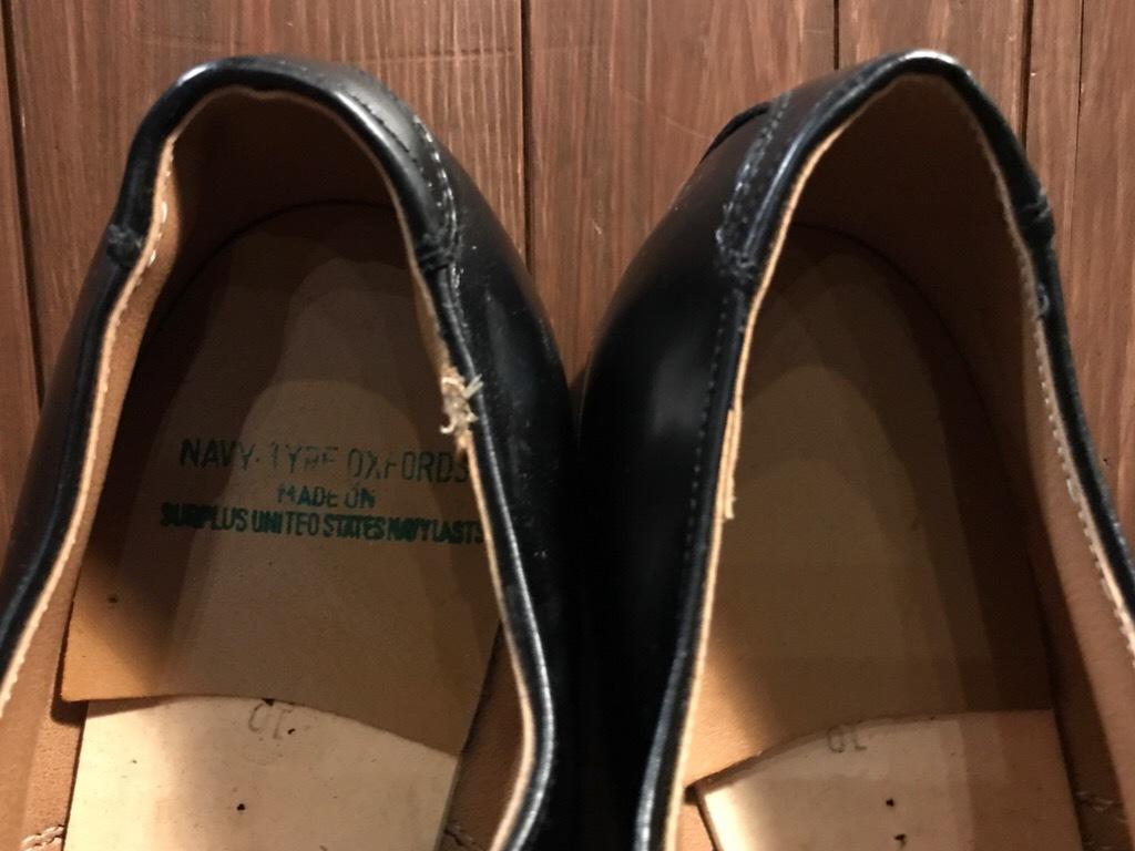 神戸店1/17(水)Vintage入荷! #2 Circa1950\'s NOS US.Navy Service Shoes!!!_c0078587_15315913.jpg