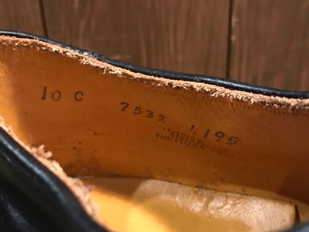 神戸店1/17(水)Vintage入荷! #2 Circa1950\'s NOS US.Navy Service Shoes!!!_c0078587_15510098.jpg