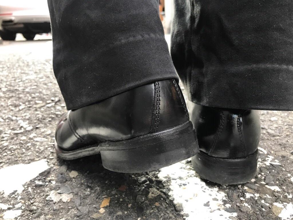 神戸店1/17(水)Vintage入荷! #2 Circa1950\'s NOS US.Navy Service Shoes!!!_c0078587_17583444.jpg