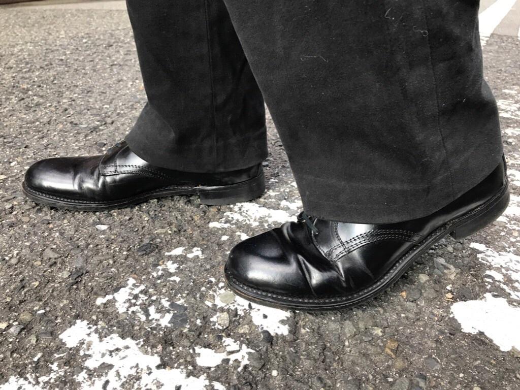 神戸店1/17(水)Vintage入荷! #2 Circa1950\'s NOS US.Navy Service Shoes!!!_c0078587_17583469.jpg