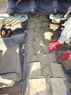 和光市の下新倉で、雨漏り修理工事_c0223192_22384995.jpg