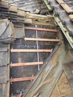 和光市の下新倉で、雨漏り修理工事_c0223192_22393323.jpg