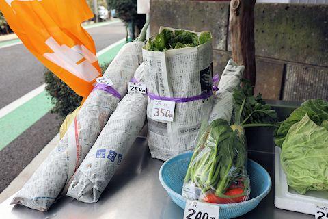お散歩で新鮮野菜をゲット♪_c0090198_18312076.jpg