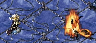 炎の中で伸ばしている手が…なんか…なんか…断末魔とか聞こえそうで…