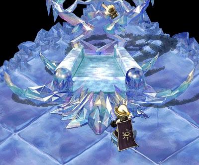 空の女王の玉座