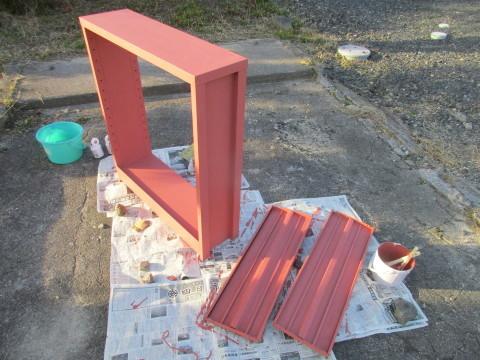 ターナーミルクペイントで本棚を塗替え_d0057215_20401962.jpg