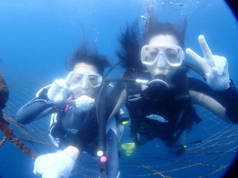 1月16日最高の陽気の中でラッキー体験ダイビング&スノーケル_c0070933_21184741.jpg