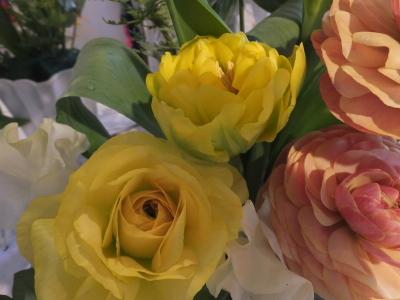 オークリーフ花の教室(山田さんと小川さんの作品)_f0049672_18031325.jpg