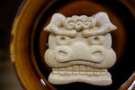 小正月に集落のお神楽の後で・・・横浜・濱うさぎの『獅子舞最中』。_f0177373_19543619.jpg