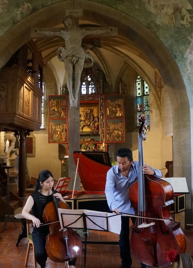 RossiniDuo フランケンの古都の教会で_c0180686_21154014.jpg