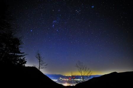 冬の澄んだ星空_e0120896_07074168.jpg