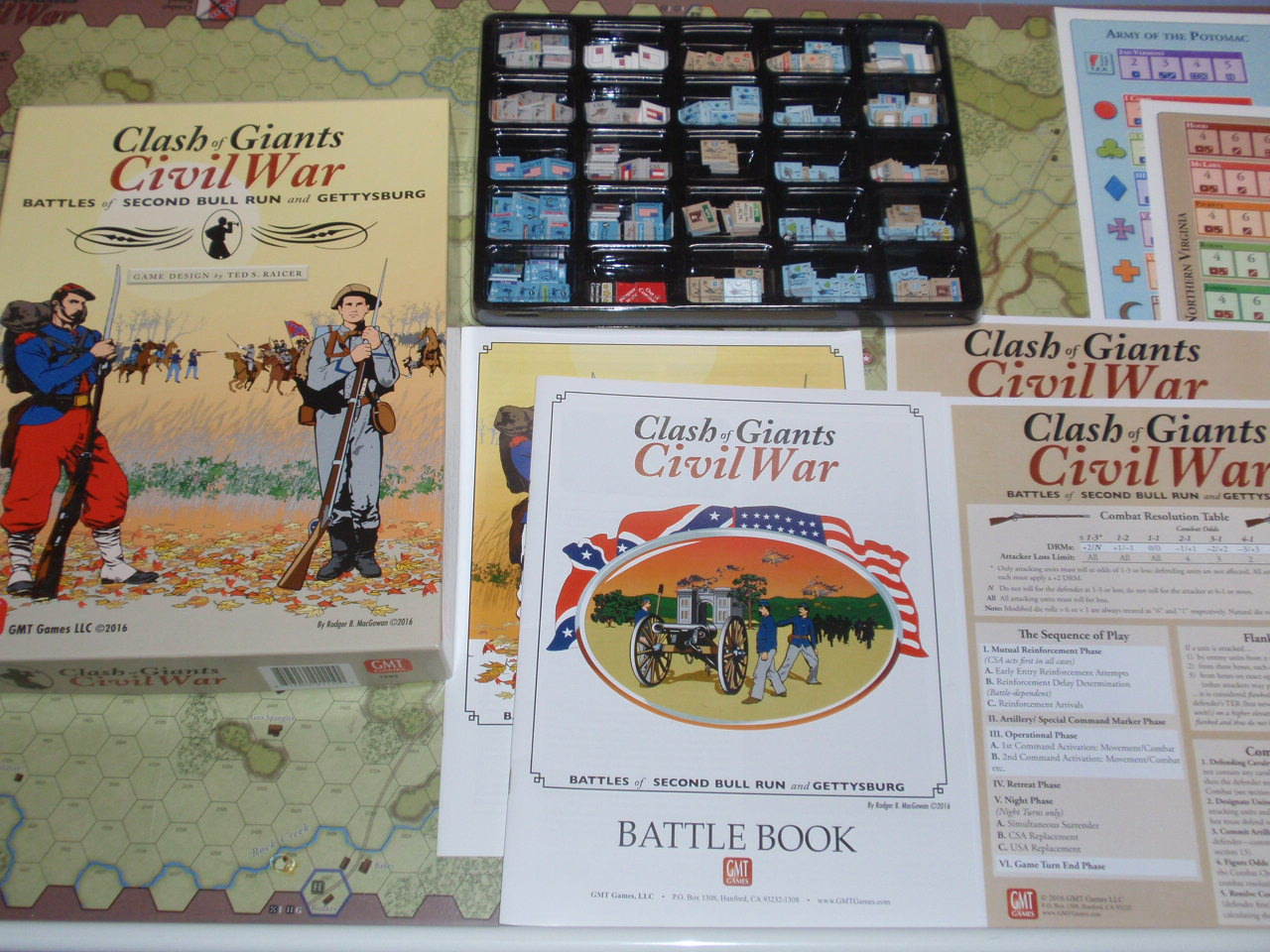 GMT「Clash of Giants:Civil War」より「Gettysburg」を対戦_b0162202_20212477.jpg