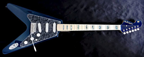 「Phantom Blue MetallicのGibfendrix 1本目」が完成!_e0053731_16180793.jpg