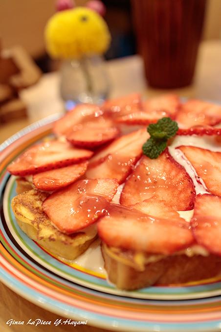 料理の風景 いちごのフレンチトースト_b0133053_01221274.jpg