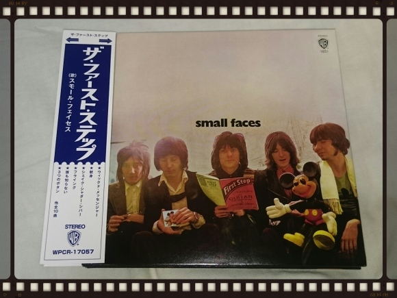 FACES / THE FIRST STEP 紙ジャケ from You Can Make Me Dance,Sing Or Anything 1970 - 1975_b0042308_01270572.jpg