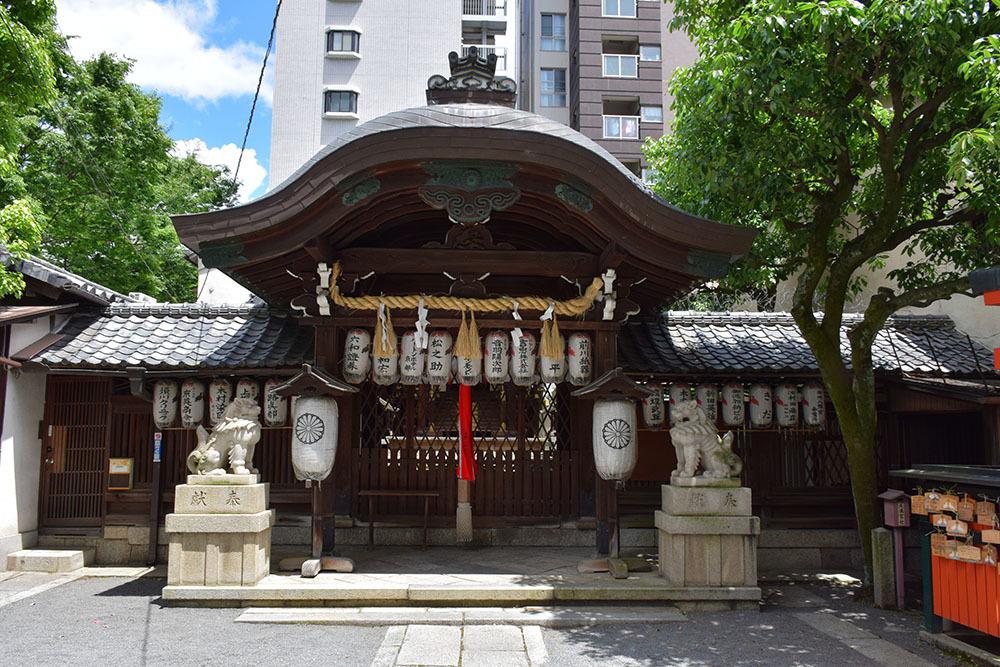 太平記を歩く。 その186 「御所八幡宮」 京都市中京区_e0158128_21591271.jpg