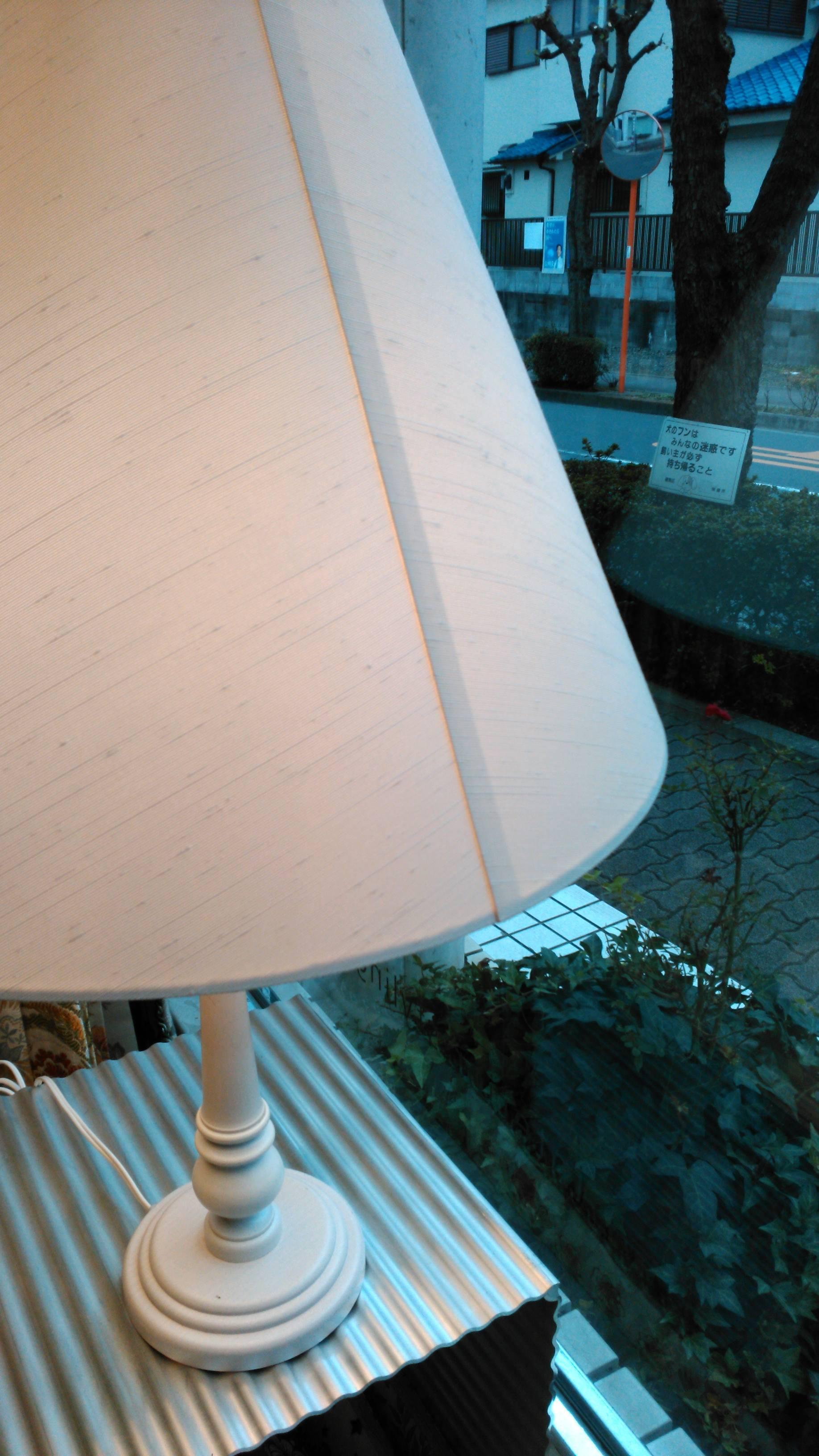 ランプシェードの張り替え_c0157866_19433273.jpg