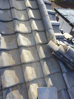 和光市下新倉で雨漏り修理工事_c0223192_16172679.jpg