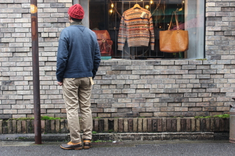 "WORKERS ""Officer Trousers\"" & \""Cotton Knit Cap\"" ご紹介_f0191324_08304479.jpg"