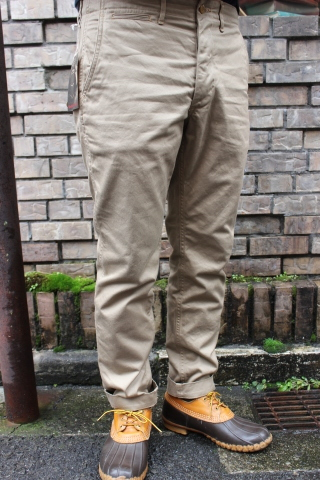 "WORKERS ""Officer Trousers\"" & \""Cotton Knit Cap\"" ご紹介_f0191324_08305204.jpg"