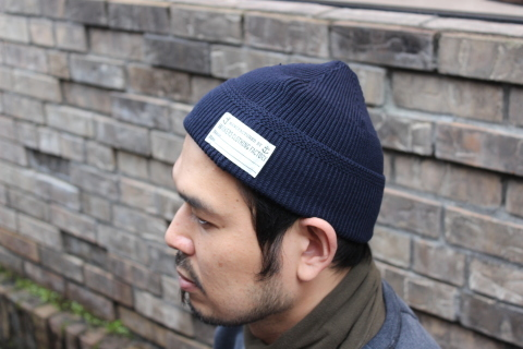 "WORKERS ""Officer Trousers\"" & \""Cotton Knit Cap\"" ご紹介_f0191324_08315192.jpg"