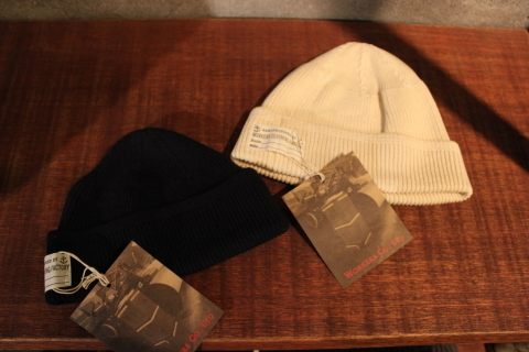 "WORKERS ""Officer Trousers\"" & \""Cotton Knit Cap\"" ご紹介_f0191324_08320563.jpg"