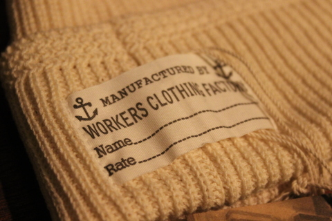 "WORKERS ""Officer Trousers\"" & \""Cotton Knit Cap\"" ご紹介_f0191324_08322650.jpg"