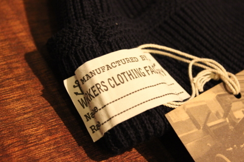 "WORKERS ""Officer Trousers\"" & \""Cotton Knit Cap\"" ご紹介_f0191324_08324913.jpg"
