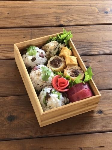 ちくわの肉詰め弁当_c0270834_15180906.jpeg